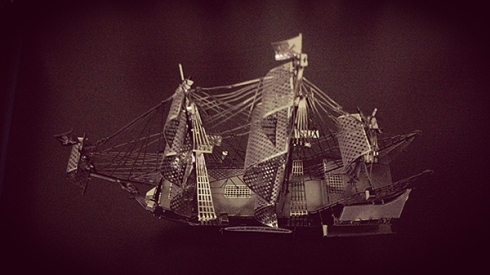 3D Nano Metal Ship