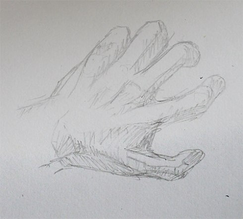 4 mins quick sketch